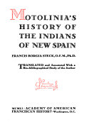 Pdf Motolinía's History of the Indians of New Spain