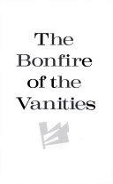 The Bonfire of the Vanities Book PDF