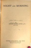 Bulwer Lytton s Novels