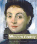 A History of Western Society  Volume B Book