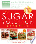 Prevention The Sugar Solution Cookbook Book