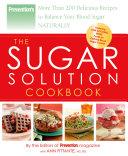 Prevention The Sugar Solution Cookbook
