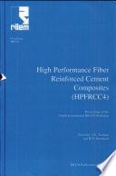 PRO 30  4th International RILEM Workshop on High Performance Fiber Reinforced Cement Composites  HPFRCC 4
