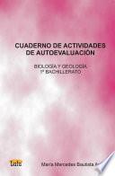 Cuaderno de Actividades de Autoevaluacin Biologa y Geologa 1 de Bachillerato