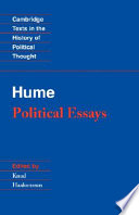 Hume Political Essays