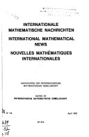 International mathematical news
