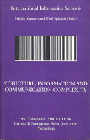 Structure  Information and Communication Complexity