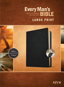 Every Man S Bible Niv Large Print Genuine Leather Black Indexed  Book PDF