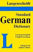 Langenscheidt's standard German dictionary