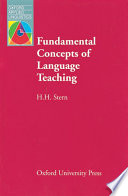 Fundamental Concepts of Language Teaching
