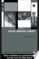 Special Inorganic Cements Book