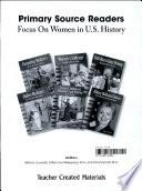 Focus On Women In U S History