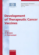 Development of Therapeutic Cancer Vaccines