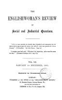 The Englishwoman's review (of social and industrial questions) [ed. by J. Boucherett].