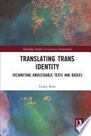 Translating Trans Identity