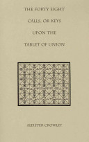 The Forty Eight Calls, Or Keys, Upon the Tablet of Union Pdf/ePub eBook