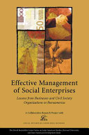 Effective Management of Social Enterprises [Pdf/ePub] eBook