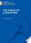 The Fable as Literature