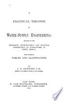 A Practical Treatise on Water-supply Engineering