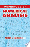 Principles of Numerical Analysis Book