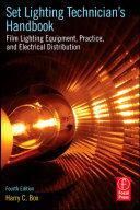 Cover of Set Lighting Technician's Handbook