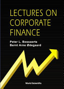 Lectures on Corporate Finance [Pdf/ePub] eBook