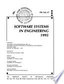 Software Systems in Engineering, 1995