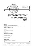Software Systems In Engineering 1995