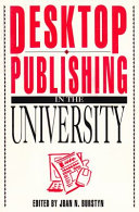 Desktop Publishing in the University