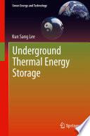 Underground Thermal Energy Storage Book