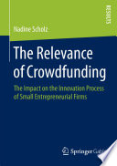 The Relevance of Crowdfunding Book