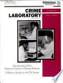 Crime Laboratory Digest Book