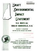 NH-101 Improvements, Dublin to Harrisville: Environmental ...