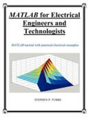 MATLAB for Electrical Engineers and Technologists Book