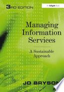 Managing Information Services Book PDF