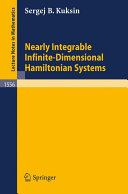 Nearly Integrable Infinite Dimensional Hamiltonian Systems