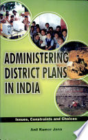 Administering District Plans in India