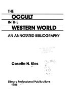 The Occult in the Western World
