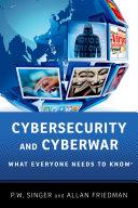 Cybersecurity and Cyberwar Pdf/ePub eBook