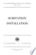 Substation Installation