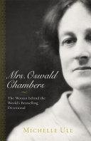 Mrs. Oswald Chambers Pdf/ePub eBook