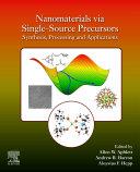 Nanomaterials via Single-Source Precursors