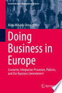 Doing Business in Europe Book