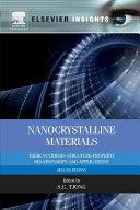 Nanocrystalline Materials