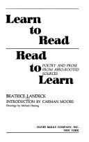 Learn to Read  Read to Learn