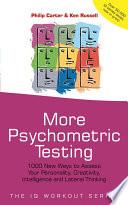 More Psychometric Testing