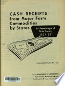 Cash Receipts From Major Farm Commodities By States PDF