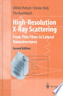 High Resolution X Ray Scattering