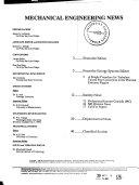 Mechanical Engineering News Book