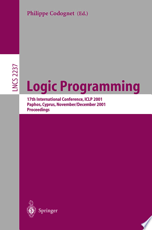 Download Logic Programming Free Books - Dlebooks.net